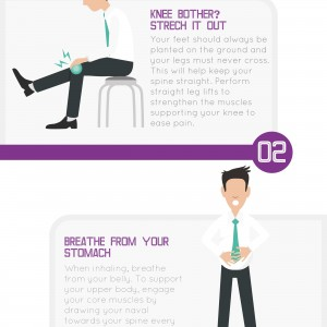 Back pain info-graphic